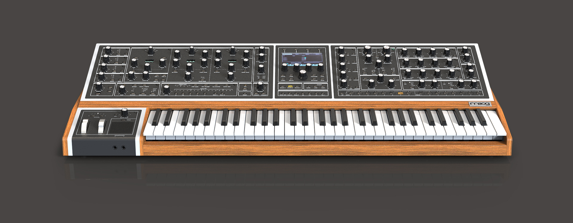 Moog One Startbild